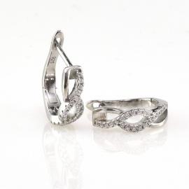 Cercei din argint Luana
