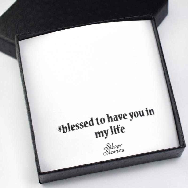 Cutie Blessed to Have You - O singura cutie pentru fiecare bijuterie