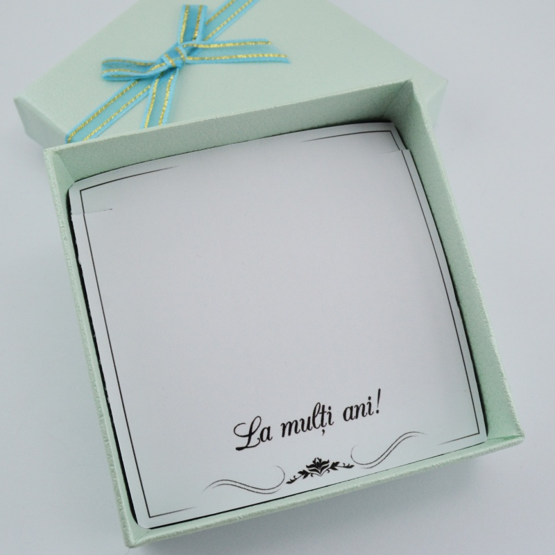 Cutie La Multi Ani  - O singura cutie pentru fiecare bijuterie